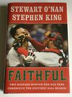 SIGNED 1st Stephen King Stewart ONan Faithful Two Diehard Boston Red Sox Fan