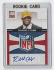 2011 PACKERS Randall Cobb signed RC card Donruss ELITE #8 AUTO Autographed NFL
