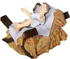 Baby Jesus In Crib Life Size Statue Nativity Christmas Display Prop Figurine