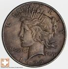 Over 90 Years Old 1922 Peace Silver Dollar 90 Silver 207