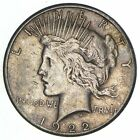 Early Better 1922 S Peace Silver Dollar 90 US Coin 095