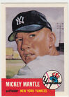 Mickey Mantle 1991 Topps Archives card #82 1953-Reprint