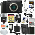 Panasonic Lumix DMC-GX8 4K HD Wi-Fi Digital Camera Body Kit Black