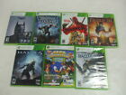 XBox 360 7 Game Lot Halo 4 Deadpool Fable III Batman Arkham Origins MISB
