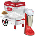 NEW (Set) Coca-Cola Stainless Steel Milkshake Maker And Coke Snow Cone Machine