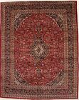 Traditional Semi Antique Handmade Vintage Persian Rug Oriental Area Carpet 10X13