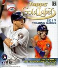 2017 TOPPS GOLD LABEL BASEBALL HOBBY BOX