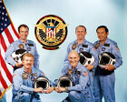 NASA MISSION STS 51C DISCOVERY CREW 8x10 SILVER HALIDE PHOTO PRINT