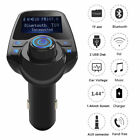 Bluetooth Car Player FM Transmitter USB Charger For iPhone 8 7 Plus 6S No