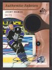 2005-06 SP Game Used Authentic Fabrics Auto #AAF-JR Jeremy Roenick Jersey 54 75