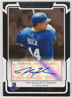 JOHN BUCK Royals SIGNED 2008 Topps