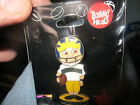 MICHIGAN WOLVERINES FOOTBALL Player Bobblehead 1 1 2 Tall Metal Pin NIP