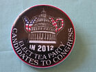 2 1 4 IN 2012 ELECT TEA PARTY CANDIDATES TO CONGRESS PIN PINBACK BUTTON d387