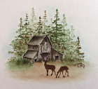 BARN RETIRED U get photo 2 only Lk examples ART IMPRESSIONS RUBBER STAMPS