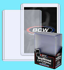 20 BCW 138pt 3.5MM THICK TOPLOADERS NEW Trading Card Holder Sport Jersey Topload