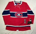 MONTREAL CANADIENS size 46 = sz Small - ADIDAS HOCKEY JERSEY Climalite Authentic