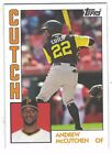ANDREW McCUTCHEN PITTSBURGH PIRATES PLAYERS NICKNAME 84 Style #TBT CUTCH
