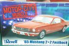 REVELL 1965 FORD MUSTANG FASTBACK 2+2 PLASTIC MODEL KIT 1/25 SKILL LEVEL 2