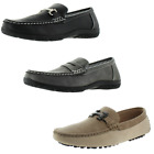 Moda Essentials Revenant Mens Designer Slip On Loafers Assorted Styles Avail
