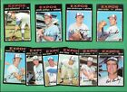10 1971 TOPPS MONTREAL EXPOS SP RC LOT BV 25 434 418 MAUCH JONES BOB BAILEY
