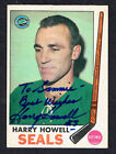 Harry Howell #79 signed autograph auto 1969-70 Topps Hockey Trading Card
