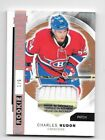 CHARLES HUDON SICK ROOKIE PATCH 1 6 2015-16 UD PREMIER MONTREAL CANADIENS RC