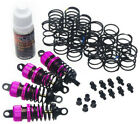 Yeah Racing DSG 0055PK Shock Gear 55mm Damper Set for 1 10 RC Touring Car Pink