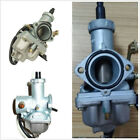 30mm Cable Choke Motorcycles ATV Bikes Carburetor PZ30 Carb Silver For 4 Stroke