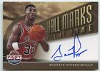 Scottie Pippen 2013 Panini past and present hall marks Hall of Fame bulls auto