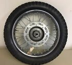 1974 Harley-Davidson SS175 OEM Rear Wheel Assembly With Brake Panel And Axle
