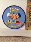 International Order Of Odd Fellows Caring And Sharing Patch 1015TB