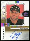 2012 SP Authentic Marks Of Distinction Sergio Garcia Auto 08 35 17 Masters Champ