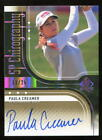 2012 SP Authentic SP Chirography Paula Creamer Auto 11 25 The Pink Panther