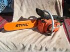 VINTAGE STIHL 015 AV  CHAINSAW OLD SCHOOL TOOL PARTS OR REPAIR NO CHAIN / SPRING