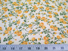 Discount Fabric Quilting Cotton Yellow Rose Floral K406