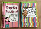 American Girl tear up this book brain waves puzzle lot doll library activity