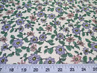 Discount Fabric Cotton Apparel Pink Blue and Green Floral K308