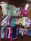 Mixed Lot 43 pc Baby Girl Clothes Clothing Summer Fall Sz 6 9 6 12 9 12 18 mos