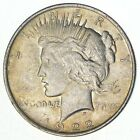 Early Better Grade 1922 Peace Silver Dollar 90 US Coin 065
