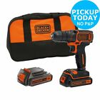 Black and Decker 18V Li-Ion Cordless Drill Driver. From the Argos Shop on ebay
