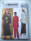 Loose fitting acket shirt tunic pants top pattern 3979 Size 22 24 26  unused