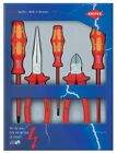 Knipex 00 20 13 / Wera 5 Piece VDE Insulated Plier and Screwdriver Set SS