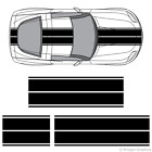 Chevy Corvette Dual Rally Racing Stripes 3m Vinyl Double Stripe Decals