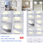 6W LED Square Wall Lamp Hall Porch Walkway Bedroom Livingroom Home Light Fixture