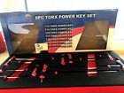 BRITOOL HALLMARK 8 Piece TORX STAR Power Key Wrench Set in Tool Control Foam