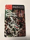 1995 Walter Payton Phone Card AUTO Autograph Signed Chicago Bears 1st Edition