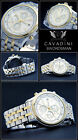 Chronograph Mens Watch Swordsman from D.H.Cavadini Stainless Steel