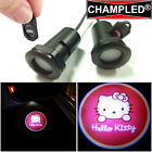CHAMPLED KITTY LED Projector Logo Shadow Car Lights Emblem Replacement Film