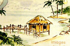 OCEAN PIER RETIRED U get photo  2 LKexamples ART IMPRESSIONS RUBBER STAMPS