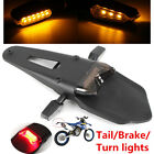 12V Universal Motorcycle Fender LED Brake Tail Light & 2X9LED Turn Signal Lights